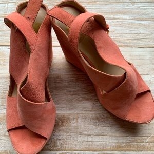 Dolce Vita Pink Suede Shoes